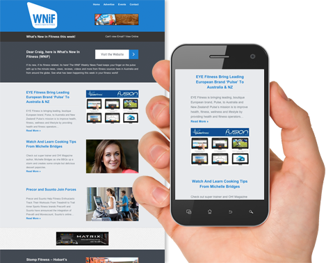 WNiF Weekly News Feed - Designed for Mobile