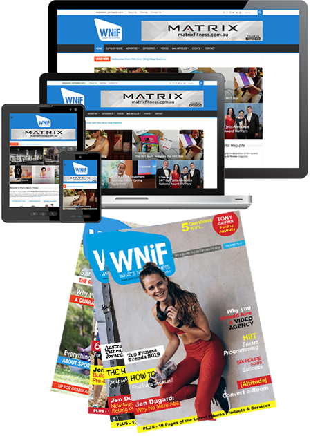 Advertise with What's New in Fitness - Spring 218 Magazine