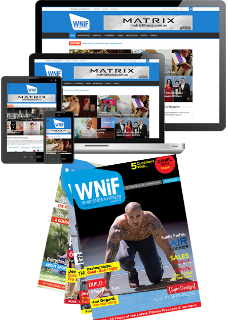 OUT NOW! The Summer Edition of the What's New in Fitness Magazine