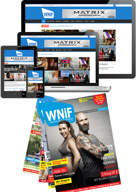 This is the What's New in Fitness Winter 2019 Magazine